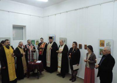 Откриване на благотворителна изложба на Ателието по иконопис в Градската художествена галерия