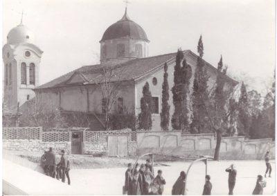 "Храм ""Света Троица"" вчера..."