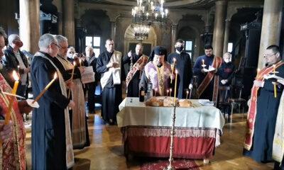 Молитвен възглас в памет на загиналите за Освобождението на Стара Загора