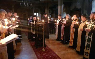 """Богослужение в храм """"Света Троица"""" през първата седмица на Великия пост"""