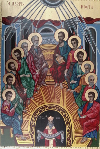 Icona Petdesetnica - Hram sv. Troitsa