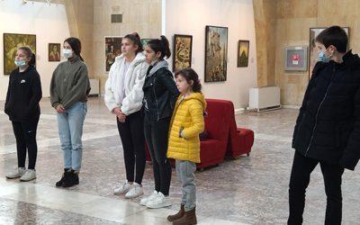 Следобед в галерията